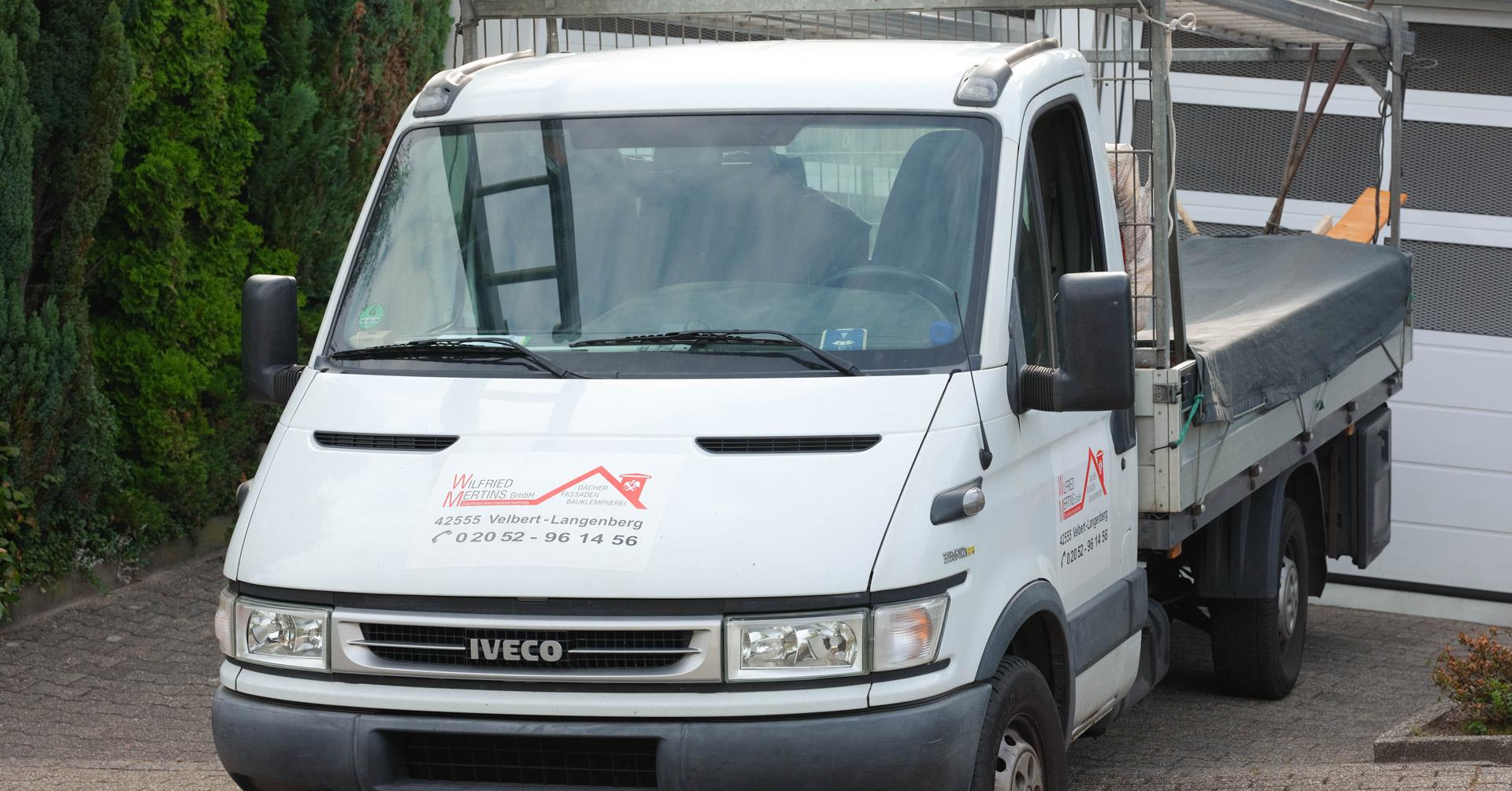 Transportwagen der Wilfried Mertins GmbH